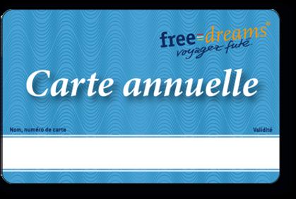 Séjourner 365 nuits gratuitement avec la carte annuelle freedreams