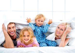 Übernachtung mit Kindern